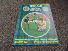 Scotland v Northern Ireland, 1979 [BC]